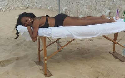 Terres Basses, Private Villa, Beach Massage