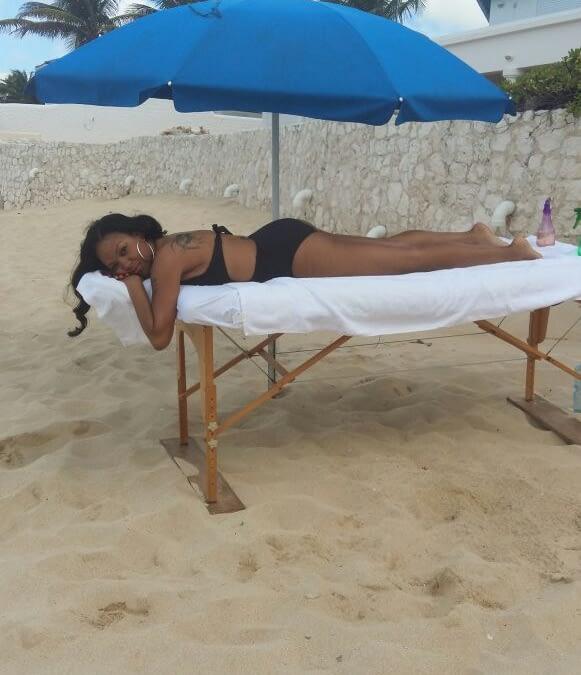 Terres Basses, Private Villa, Beach Massage
